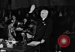 Image of HUAC testimony of Under Secretary of State George Messersmith United States USA, 1947, second 7 stock footage video 65675050663