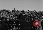 Image of graduation ceremony United States USA, 1963, second 20 stock footage video 65675050666