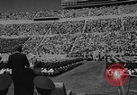 Image of graduation ceremony United States USA, 1963, second 25 stock footage video 65675050666