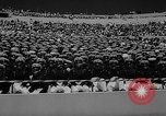 Image of graduation ceremony United States USA, 1963, second 50 stock footage video 65675050666