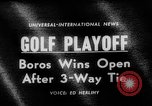Image of United States Open Championship Massachusetts United States USA, 1963, second 1 stock footage video 65675050675