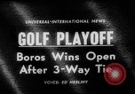 Image of United States Open Championship Massachusetts United States USA, 1963, second 2 stock footage video 65675050675