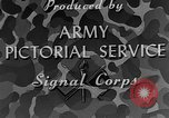 Image of Camouflage in Combat United States USA, 1945, second 20 stock footage video 65675050679