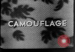 Image of Camouflage in Combat United States USA, 1945, second 62 stock footage video 65675050679