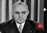 Image of President Truman United States USA, 1945, second 60 stock footage video 65675050690