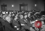 Image of group of men United States USA, 1945, second 10 stock footage video 65675050702