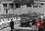 Image of funeral procession Europe, 1945, second 6 stock footage video 65675050705