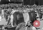 Image of funeral procession Europe, 1945, second 20 stock footage video 65675050705