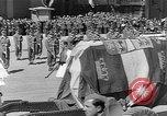Image of funeral procession Europe, 1945, second 22 stock footage video 65675050705