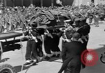 Image of funeral procession Europe, 1945, second 30 stock footage video 65675050705