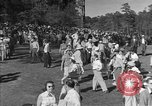 Image of Ben Hogan with military escorts at 1953 golf Masters Tournament Augusta Georgia USA, 1953, second 9 stock footage video 65675050719
