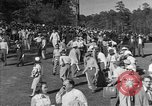 Image of Ben Hogan with military escorts at 1953 golf Masters Tournament Augusta Georgia USA, 1953, second 11 stock footage video 65675050719