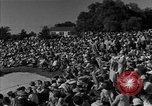 Image of Ben Hogan with military escorts at 1953 golf Masters Tournament Augusta Georgia USA, 1953, second 12 stock footage video 65675050719