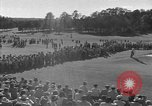 Image of Ben Hogan with military escorts at 1953 golf Masters Tournament Augusta Georgia USA, 1953, second 22 stock footage video 65675050719