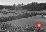Image of Ben Hogan with military escorts at 1953 golf Masters Tournament Augusta Georgia USA, 1953, second 23 stock footage video 65675050719