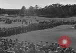 Image of Ben Hogan with military escorts at 1953 golf Masters Tournament Augusta Georgia USA, 1953, second 24 stock footage video 65675050719