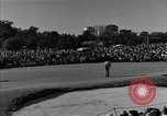Image of Ben Hogan with military escorts at 1953 golf Masters Tournament Augusta Georgia USA, 1953, second 26 stock footage video 65675050719