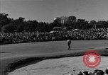Image of Ben Hogan with military escorts at 1953 golf Masters Tournament Augusta Georgia USA, 1953, second 27 stock footage video 65675050719