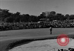 Image of Ben Hogan with military escorts at 1953 golf Masters Tournament Augusta Georgia USA, 1953, second 28 stock footage video 65675050719