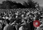 Image of Ben Hogan with military escorts at 1953 golf Masters Tournament Augusta Georgia USA, 1953, second 38 stock footage video 65675050719