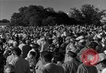 Image of Ben Hogan with military escorts at 1953 golf Masters Tournament Augusta Georgia USA, 1953, second 42 stock footage video 65675050719