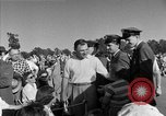 Image of Ben Hogan with military escorts at 1953 golf Masters Tournament Augusta Georgia USA, 1953, second 57 stock footage video 65675050719