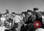 Image of Ben Hogan with military escorts at 1953 golf Masters Tournament Augusta Georgia USA, 1953, second 59 stock footage video 65675050719