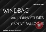 Image of barrage balloon United States USA, 1941, second 2 stock footage video 65675050730
