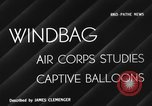 Image of barrage balloon United States USA, 1941, second 4 stock footage video 65675050730
