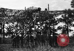 Image of camouflaged net United States USA, 1941, second 45 stock footage video 65675050731