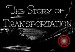 Image of means of transport United States USA, 1928, second 5 stock footage video 65675050743