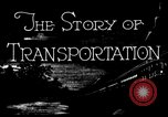 Image of means of transport United States USA, 1928, second 6 stock footage video 65675050743