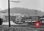 Image of electric locomotive Mullens West Virginia USA, 1928, second 17 stock footage video 65675050756