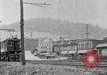 Image of electric locomotive Mullens West Virginia USA, 1928, second 20 stock footage video 65675050756