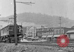 Image of electric locomotive Mullens West Virginia USA, 1928, second 21 stock footage video 65675050756