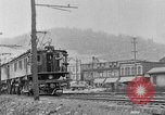 Image of electric locomotive Mullens West Virginia USA, 1928, second 22 stock footage video 65675050756