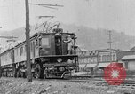 Image of electric locomotive Mullens West Virginia USA, 1928, second 23 stock footage video 65675050756