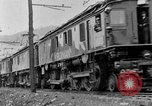 Image of electric locomotive Mullens West Virginia USA, 1928, second 25 stock footage video 65675050756