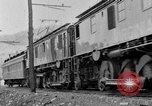 Image of electric locomotive Mullens West Virginia USA, 1928, second 29 stock footage video 65675050756