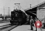 Image of electric train Brazil, 1928, second 22 stock footage video 65675050757