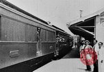 Image of electric train Brazil, 1928, second 30 stock footage video 65675050757