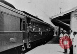 Image of electric train Brazil, 1928, second 32 stock footage video 65675050757