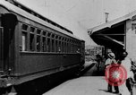 Image of electric train Brazil, 1928, second 39 stock footage video 65675050757