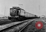 Image of electric train Brazil, 1928, second 50 stock footage video 65675050757