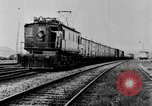Image of electric train Brazil, 1928, second 51 stock footage video 65675050757