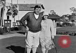 Image of Babe Ruth playing golf Saint Petersburg Florida USA, 1930, second 32 stock footage video 65675050771
