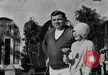 Image of Babe Ruth playing golf Saint Petersburg Florida USA, 1930, second 34 stock footage video 65675050771