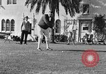 Image of Babe Ruth playing golf Saint Petersburg Florida USA, 1930, second 39 stock footage video 65675050771