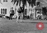 Image of Babe Ruth playing golf Saint Petersburg Florida USA, 1930, second 41 stock footage video 65675050771