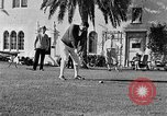 Image of Babe Ruth playing golf Saint Petersburg Florida USA, 1930, second 42 stock footage video 65675050771